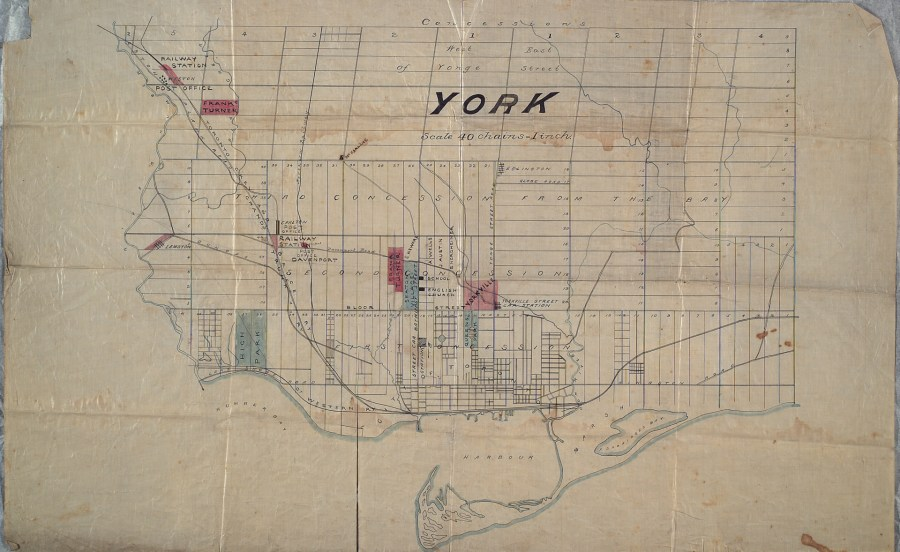 File Map of the County of York  Ontario from the late 1800s jpg     File Map of the County of York  Ontario from the late 1800s jpg