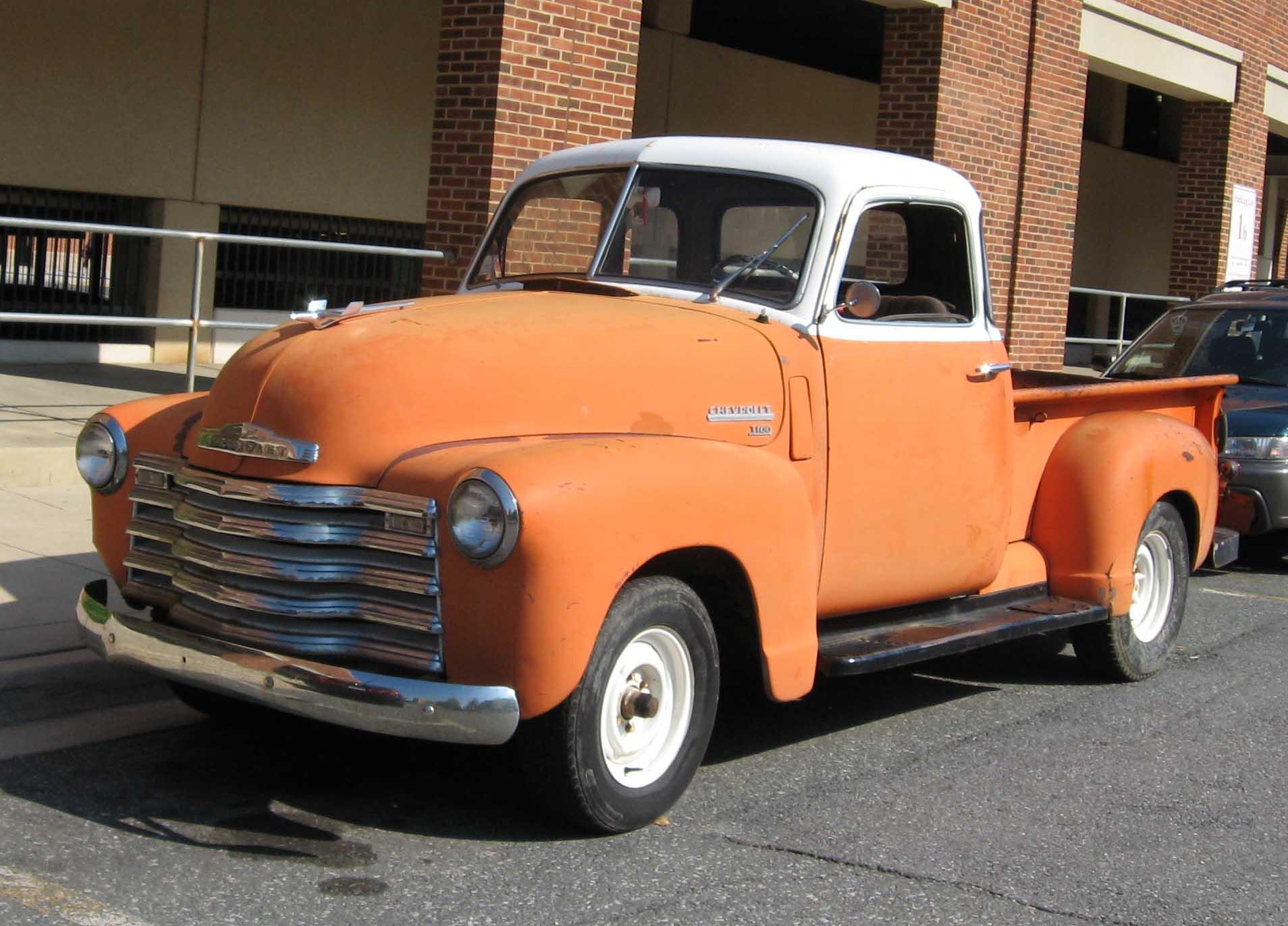 1950 Chevy Truck Patina 1949