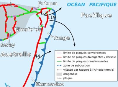 Plaque des Tonga — Wikipédia