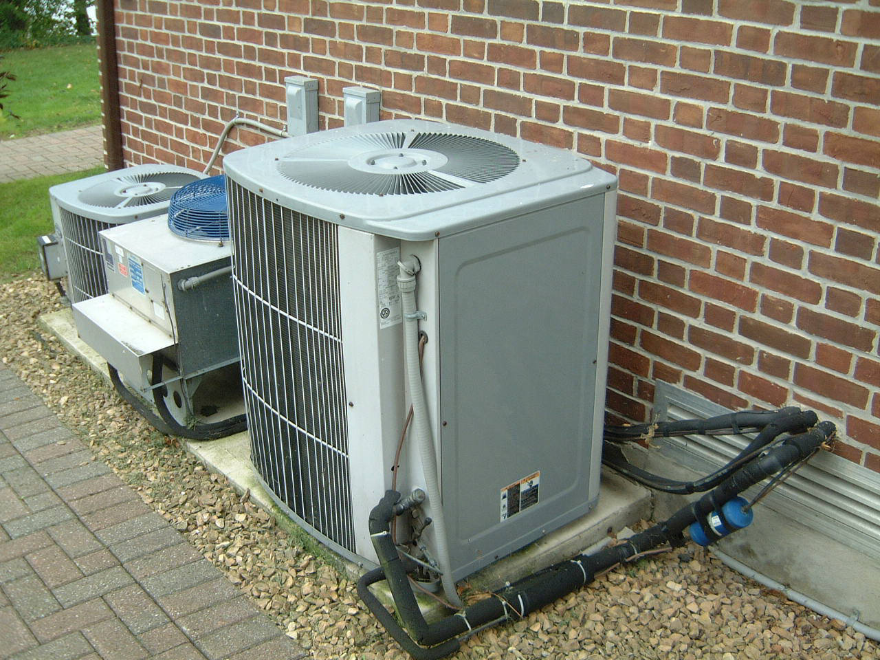Central Air Conditioner Outside Unit