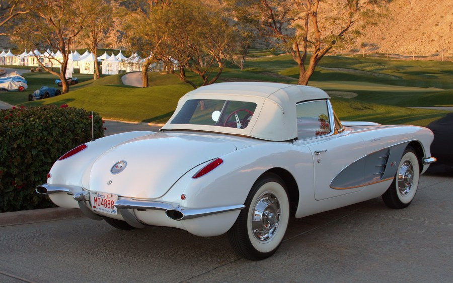 1956 chevrolet cars » Chevrolet Corvette  C1    Wikipedia 1960 rear
