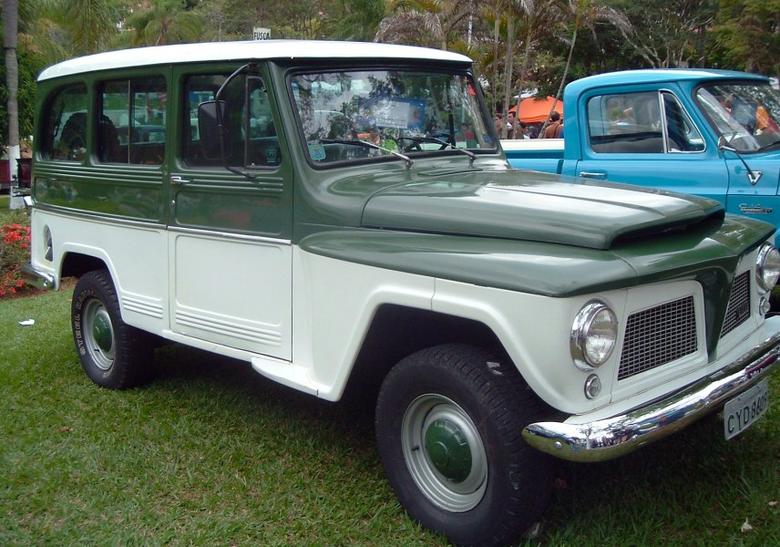 1964 studebaker cars » Willys Jeep Station Wagon   Wikipedia Brazil     Willys Wagon became the Ford Rural  1969 1974 model