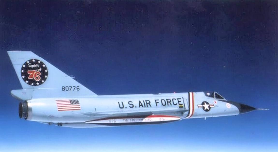 F 102 Delta Dart Blueprint