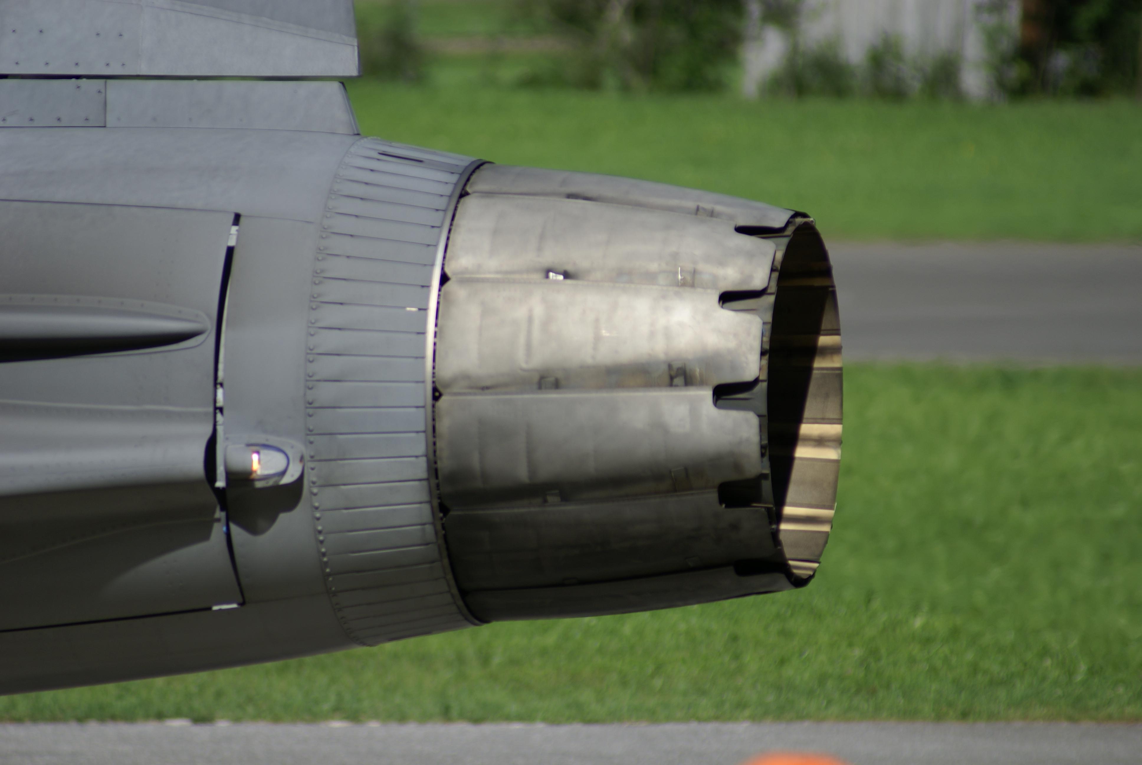 Eurofighter Typhoon Thrust Vectoring Nozzle