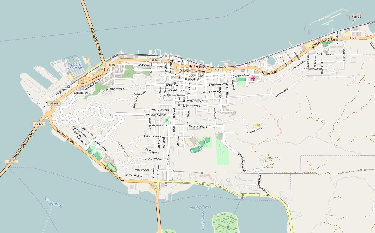 Showing Street Car Flickr Transportation Map