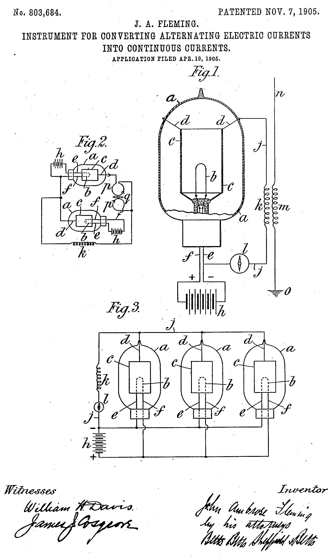 Wiring Diagram For A Vacuum Tube Radio Fleming Diagrams