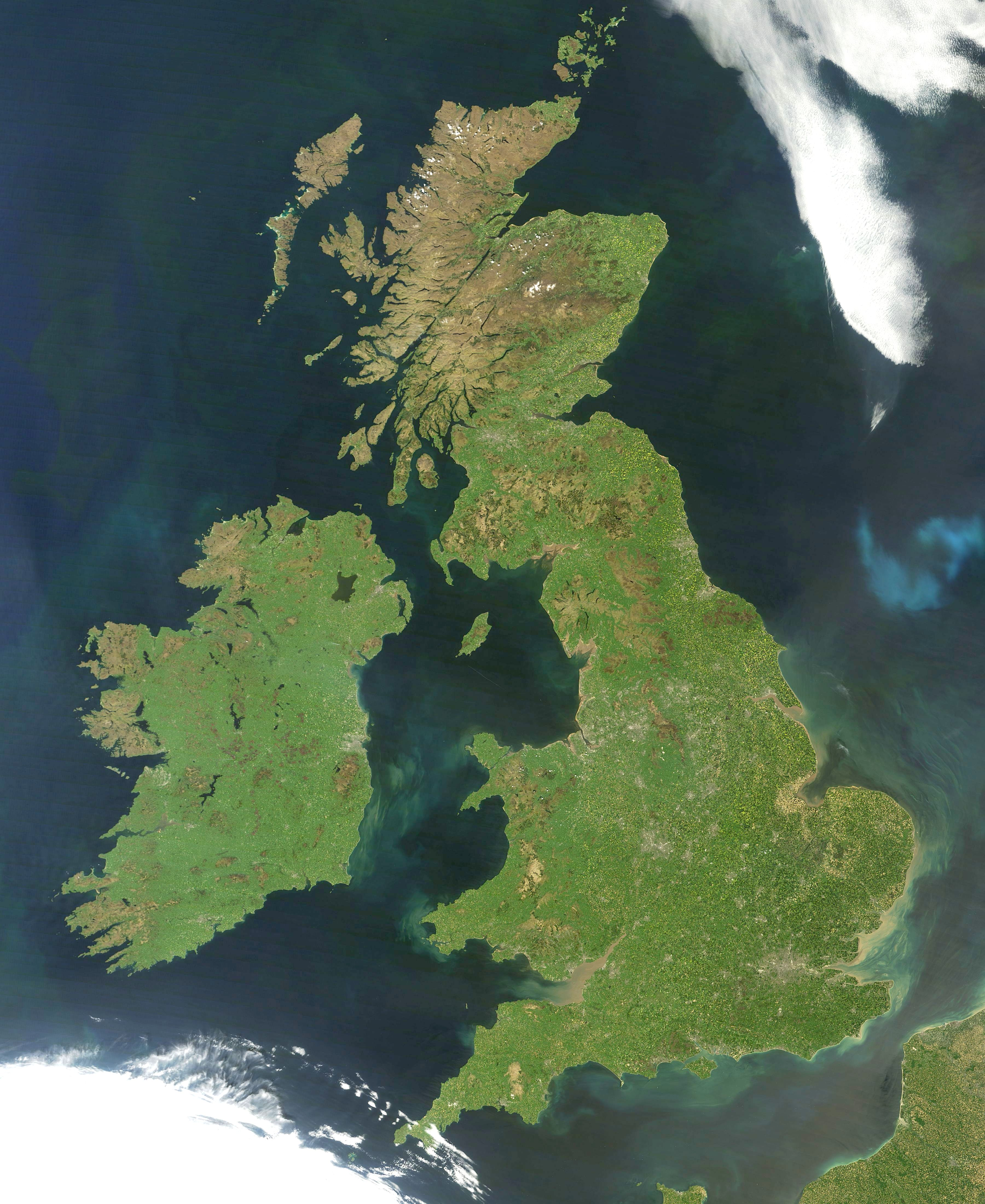 And British Isles Britain Between Uk Great Difference