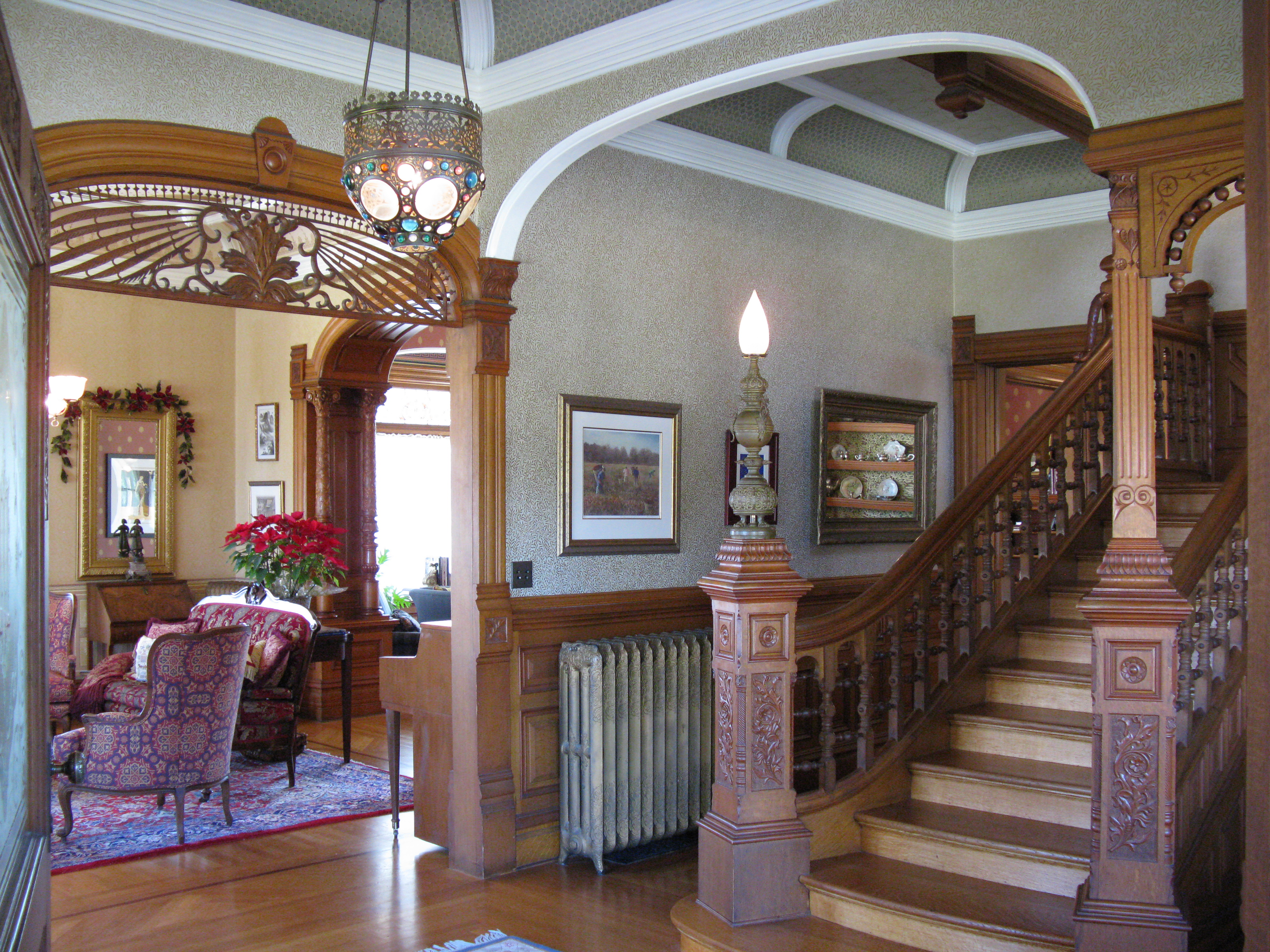 Historical Home Living Rooms