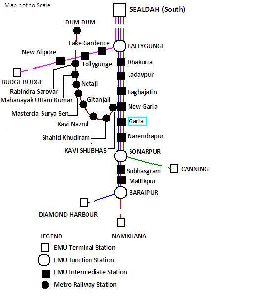 Garia Railway Station Wikipedia