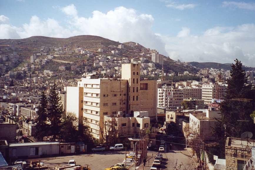 People Black Nablus City