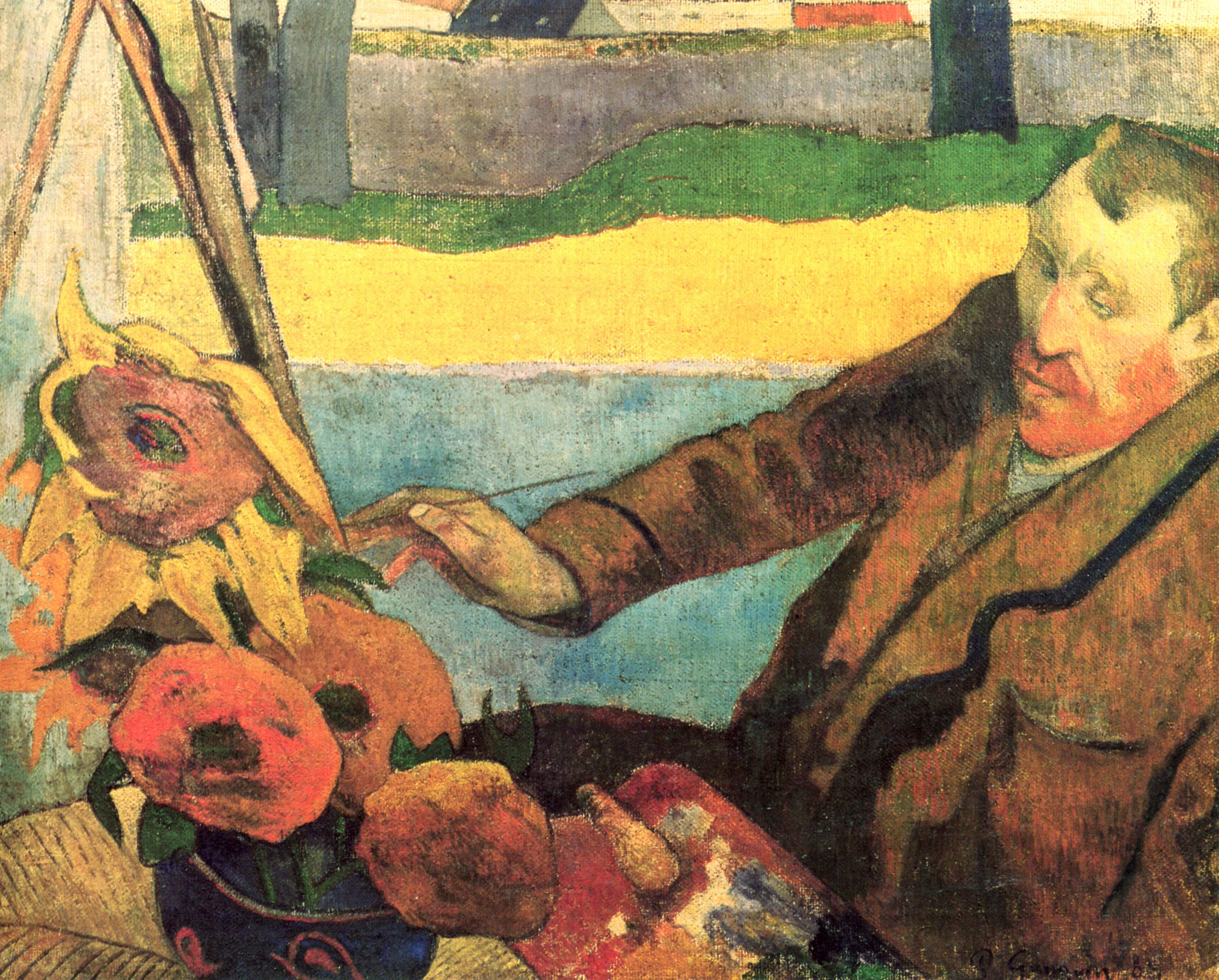 Van Paul Gogh And Gauguin