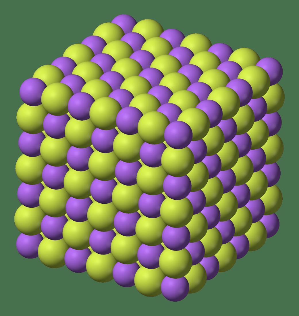 Oxygen Structure Dot Sodium