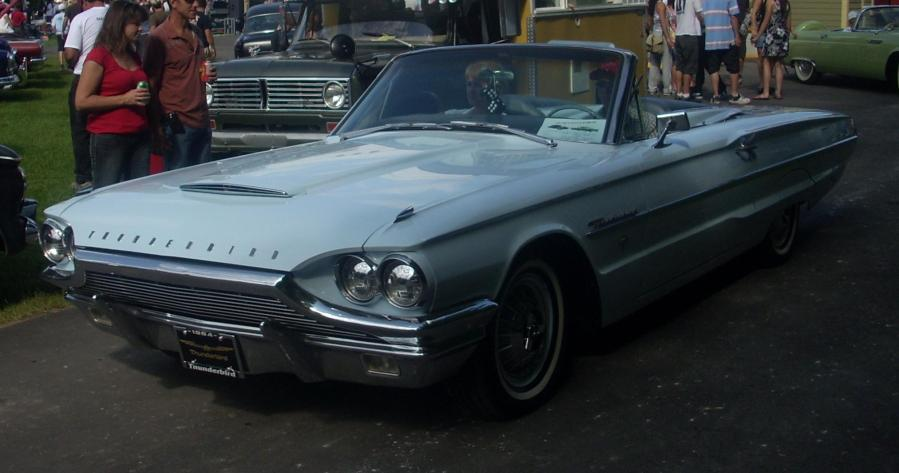 1964 studebaker cars » File  64 Ford Thunderbird Convertible  Rigaud  JPG   Wikimedia Commons File  64 Ford Thunderbird Convertible  Rigaud