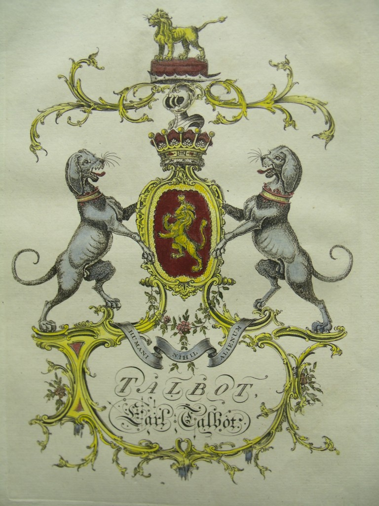 English Coat Arms Shield