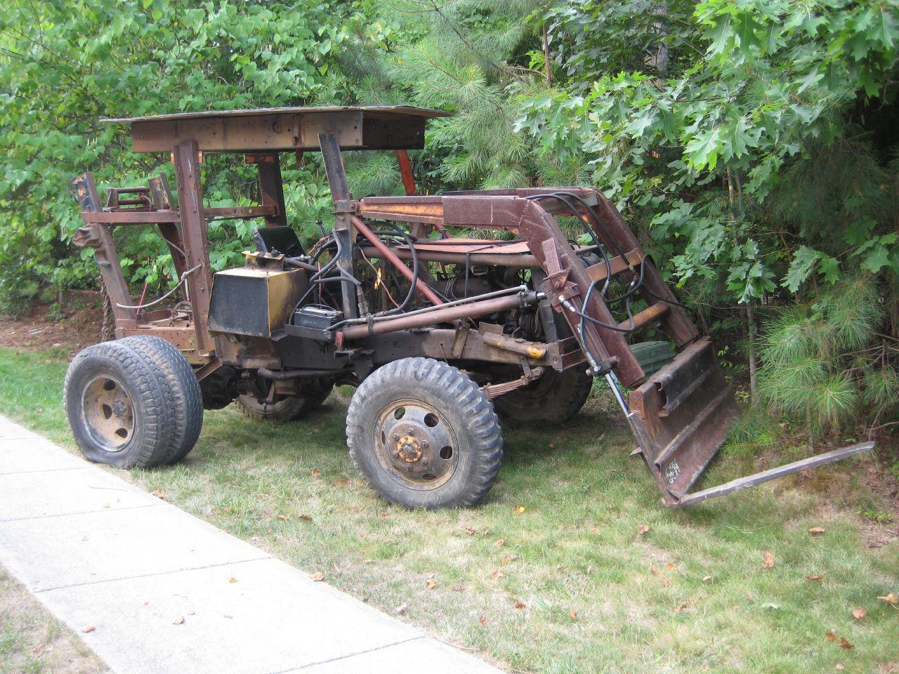 File Homemade Tractor Jpg