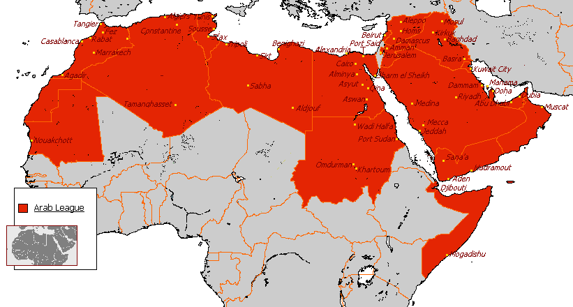 Africa Arab Countries
