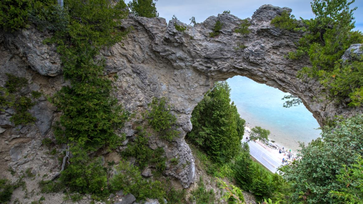Arch Rock Mackinac Island Wikipedia
