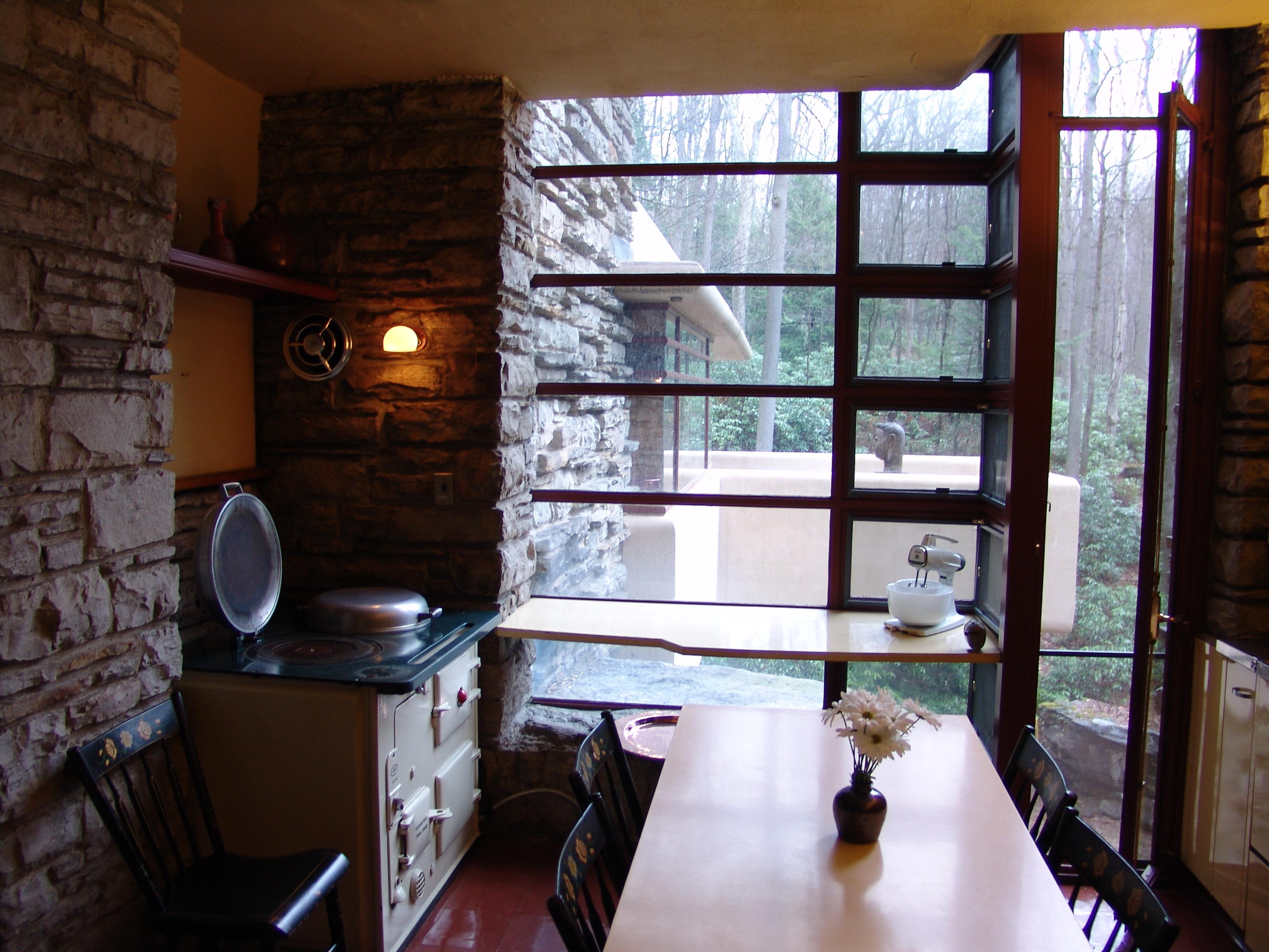 Fallingwater House Interior