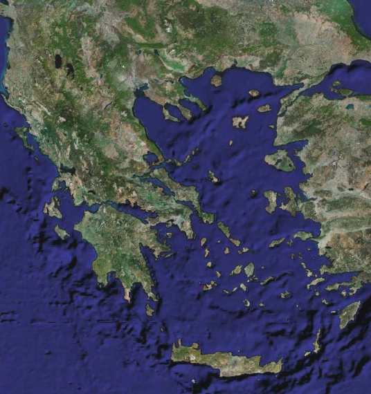 File Greece satellite map jpg   Wikimedia Commons File Greece satellite map jpg