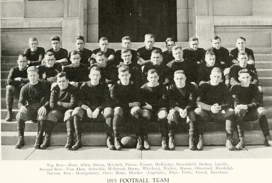 1915 Purdue Boilermakers Football Team Wikipedia