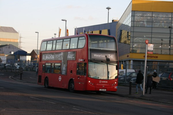 ikea pictures london bus # 39