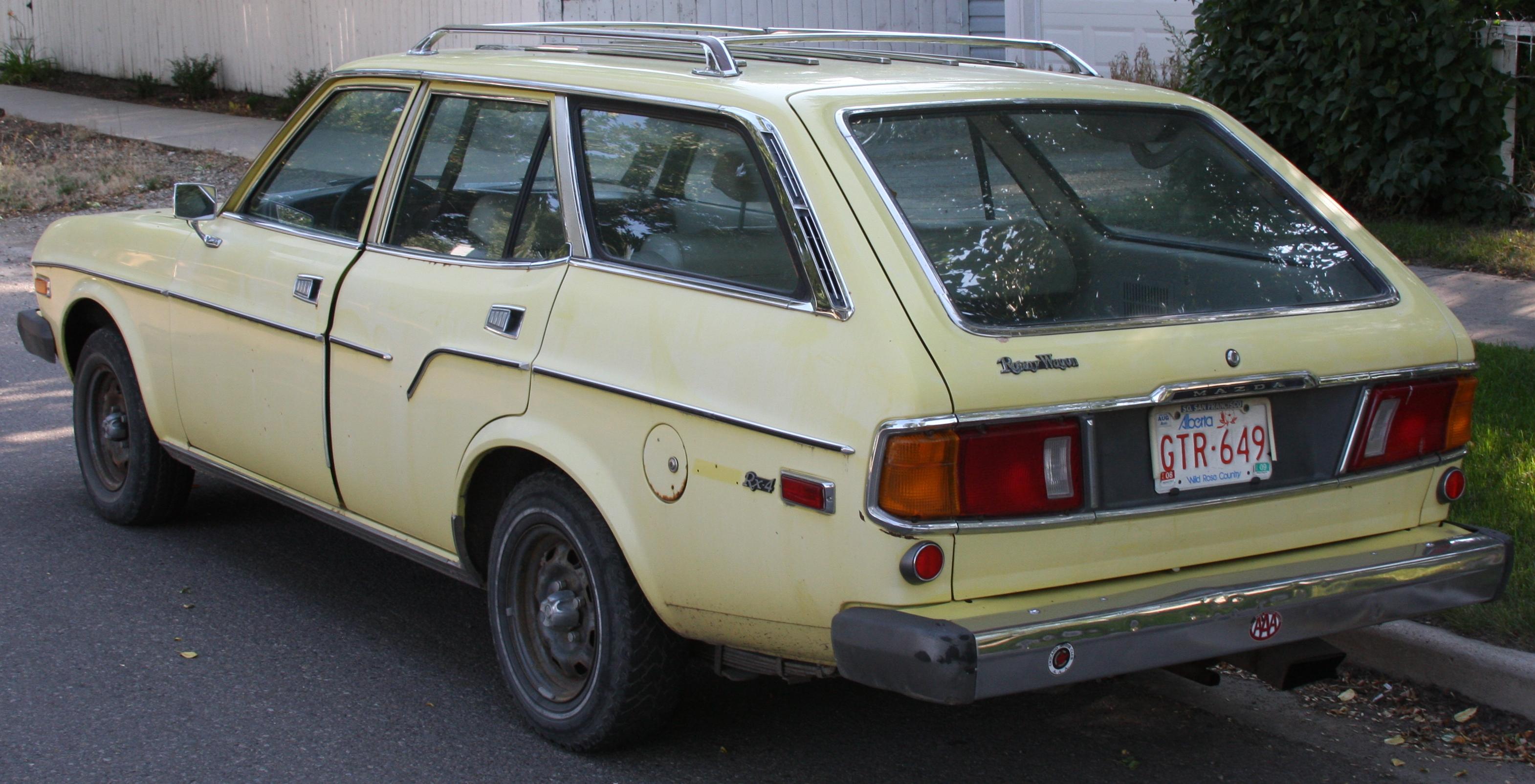 mazda rx4 wagon - HD3140×1605