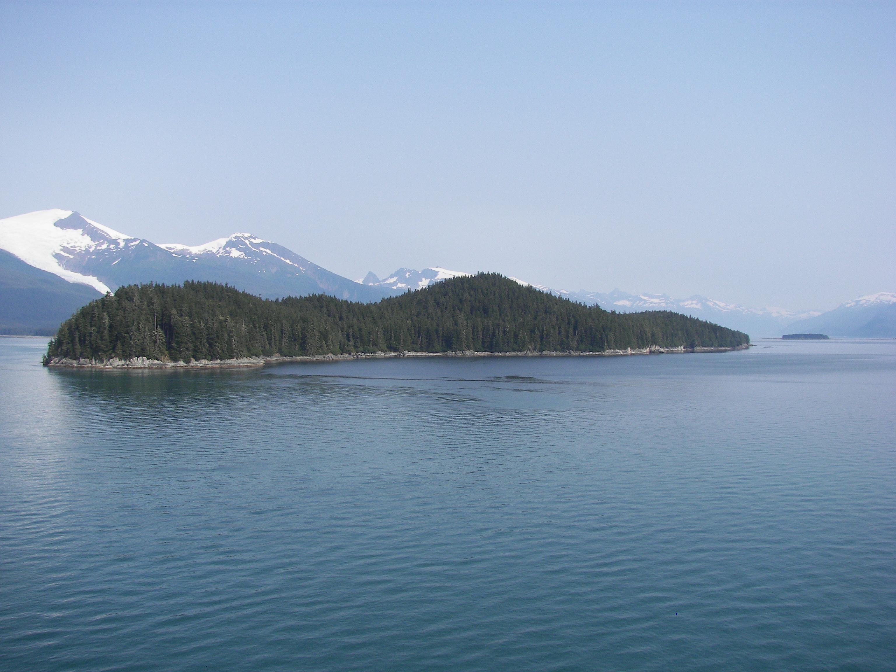 View Island Touching Spirit Bear