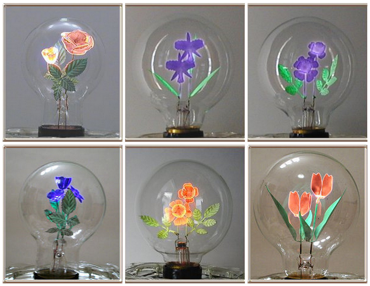 Flowers Light Bulbs