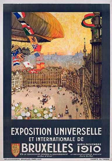 Exposition Universelle De Bruxelles De 1910 Wikip 233 Dia