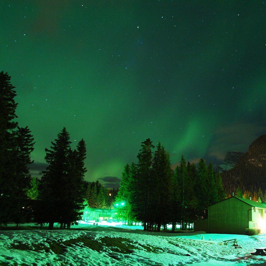 Banff Northern Lights 2017