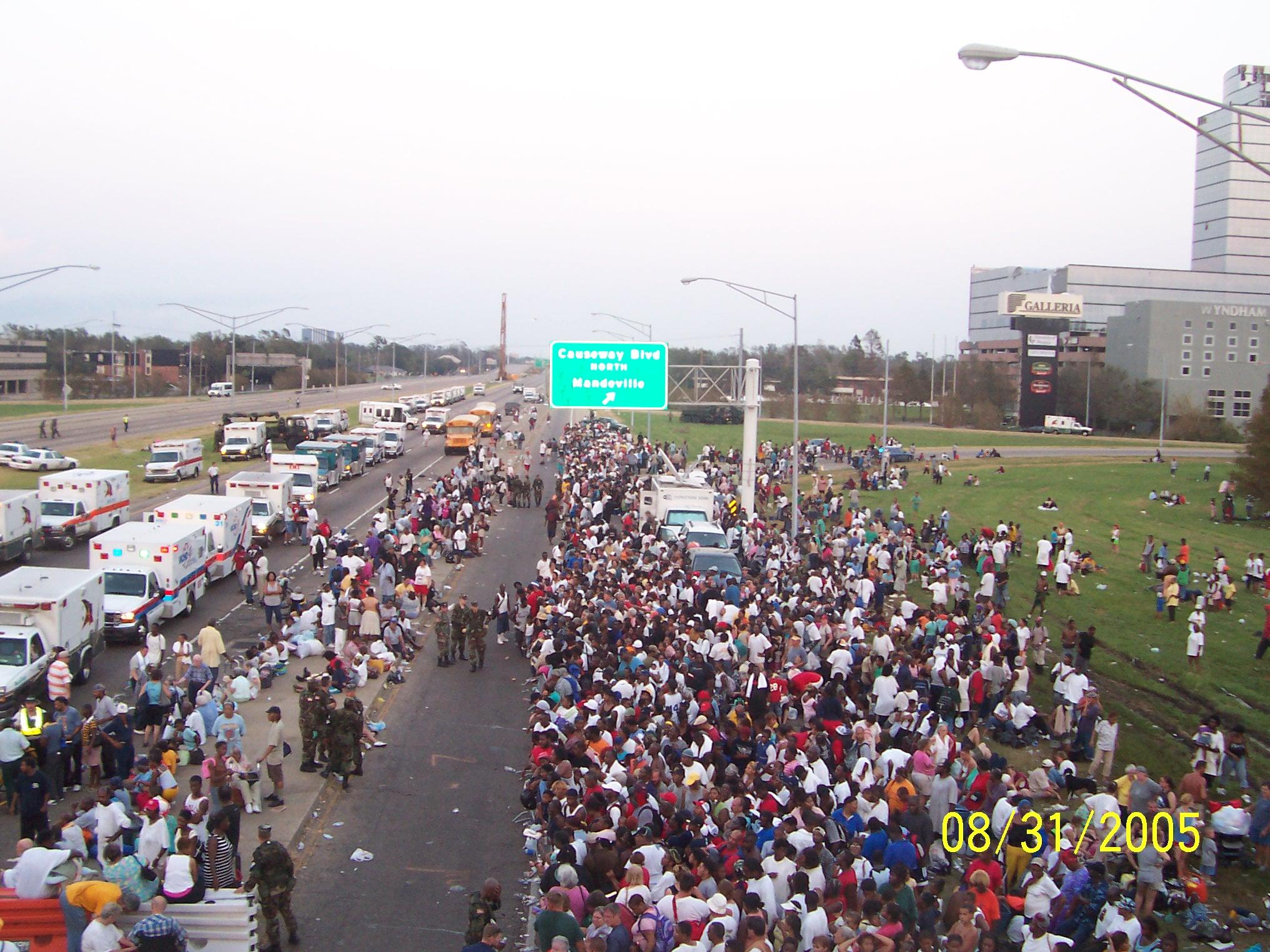 Hurricane Katrina During