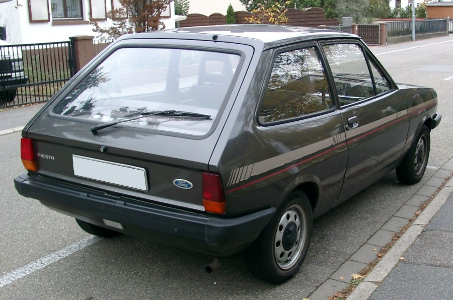1972 ford cars » Ford Fiesta  first generation    Wikipedia Fiesta  EU  rear