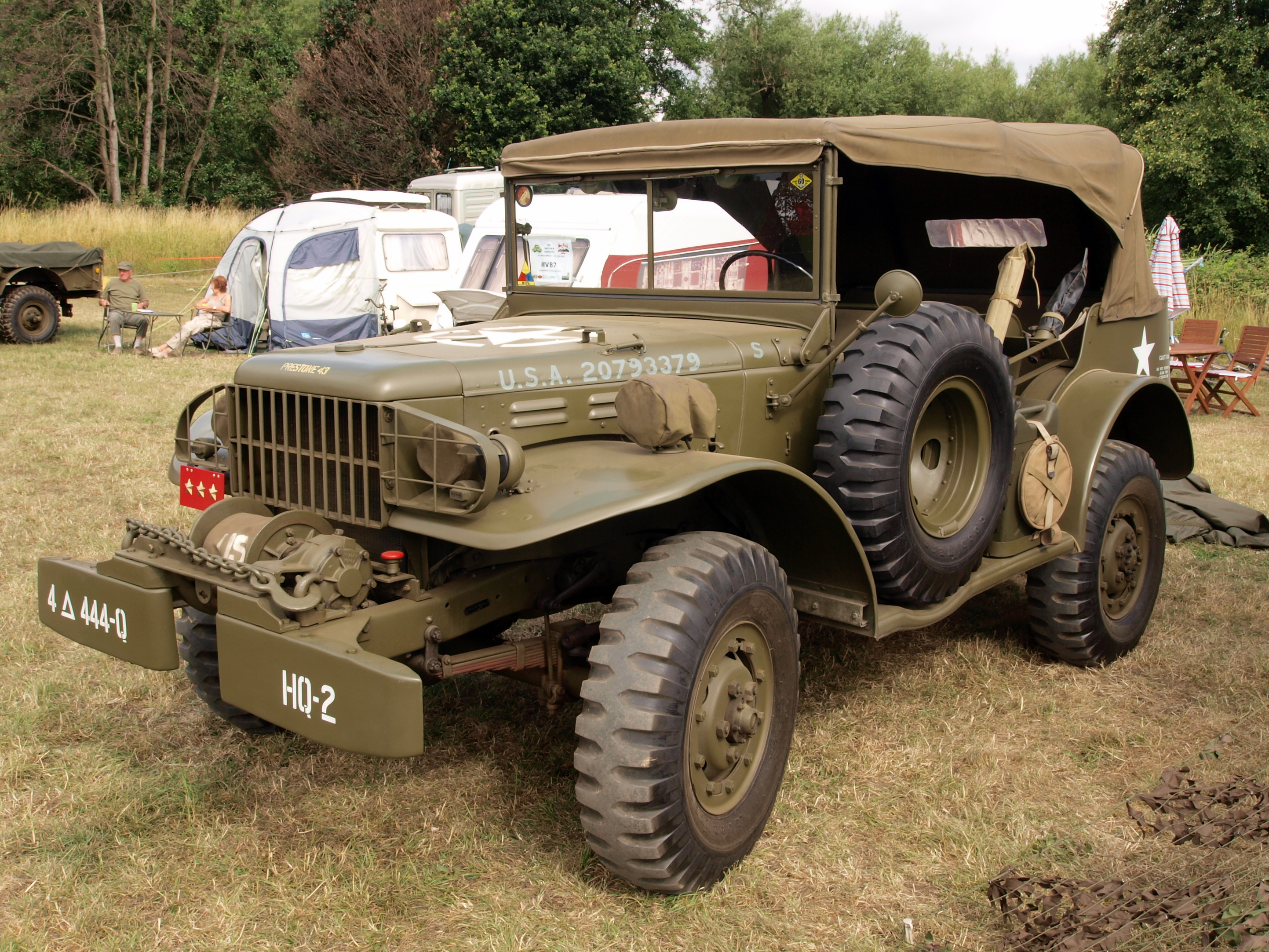 1953 Willys Jeep Wagon Lifted
