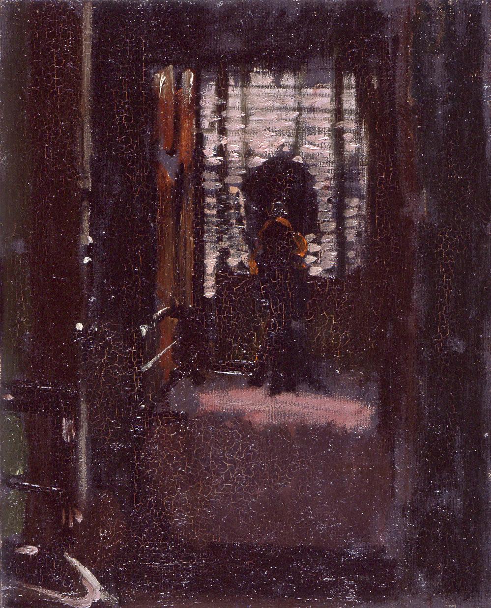 Sickert Ripper Bedroom Walter S Jack Art