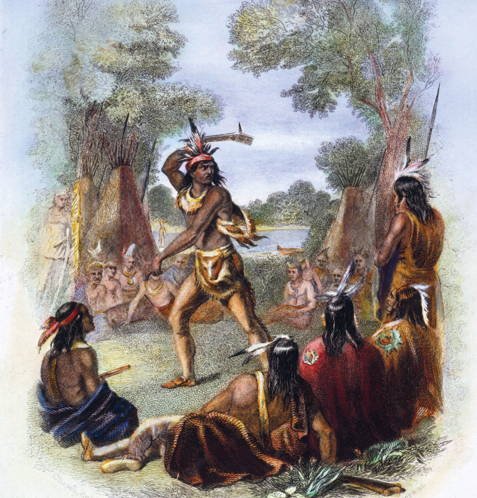 Did George Take Side Indian War And Why British Washington French