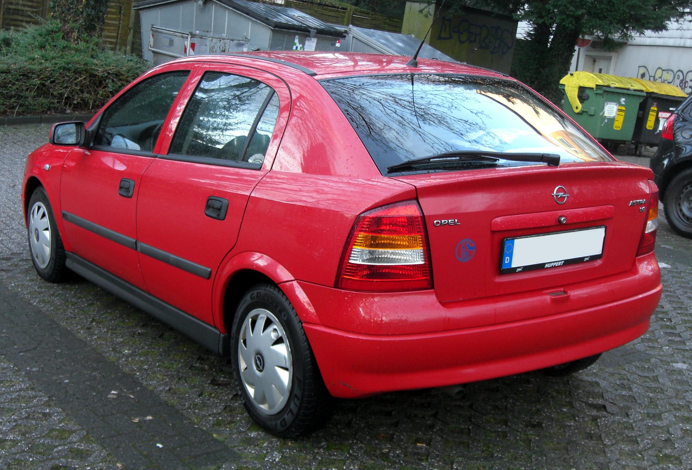 File:Opel Astra G rear.JPG - Wikimedia Commons