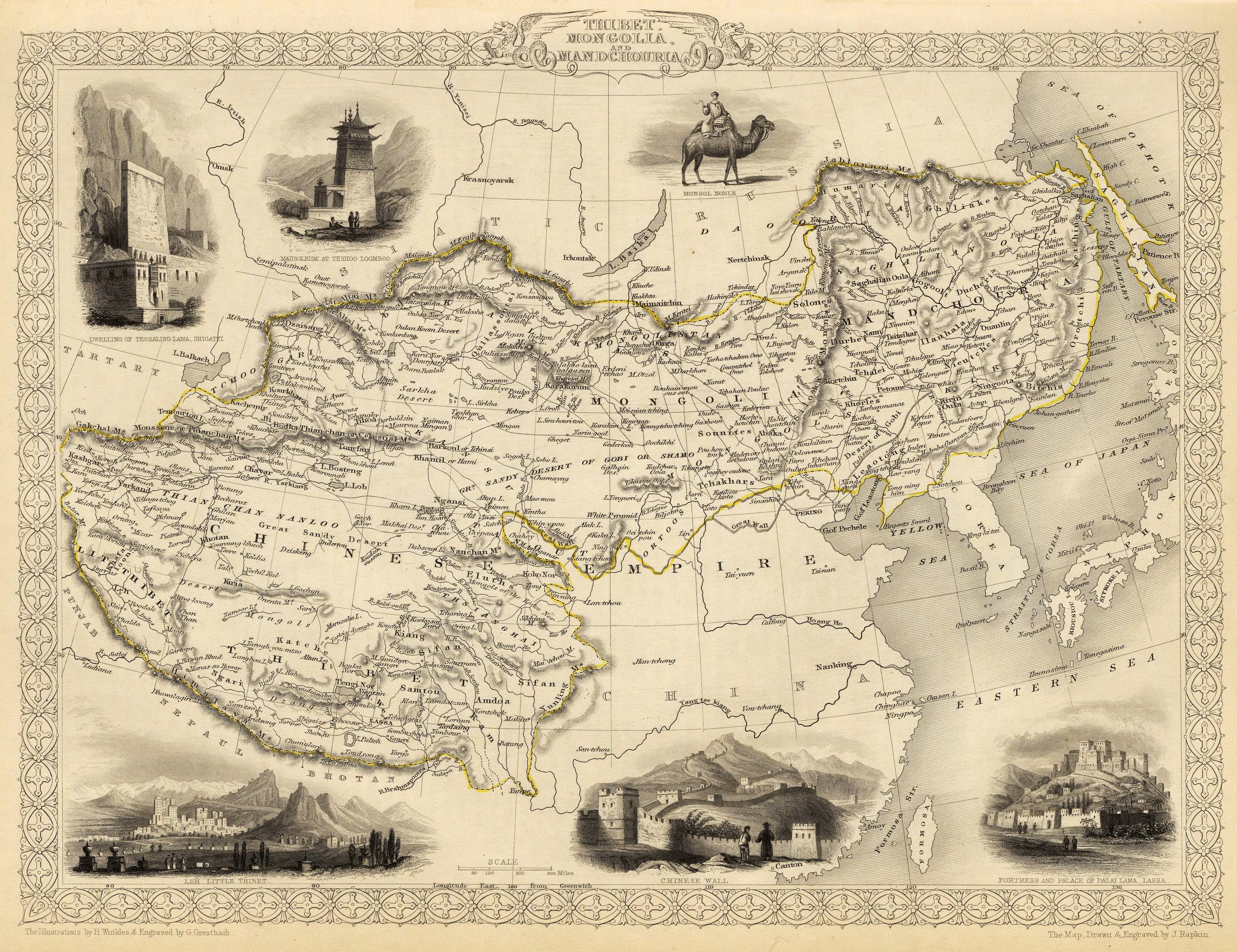 File talk Qing Dynasty 1820 png   Wikipedia Northeast China is also shown as  Chinese Tartary  on all of these western  maps  when it is the Manchu homeland and was very much under Qing control