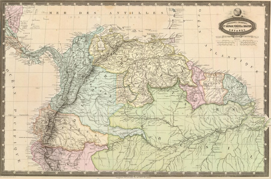 File Map of the republics of northern South America  1860  jpg     File Map of the republics of northern South America  1860  jpg