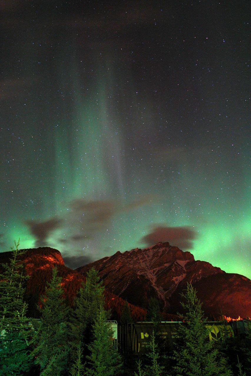 Northern Lights Banff July