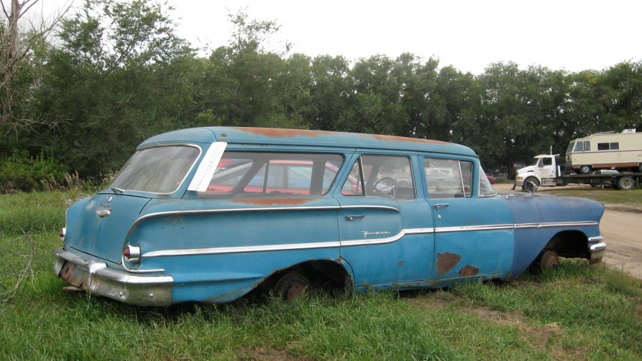 1958 chevrolet cars » File 1958 Chevy Yeoman wagon side JPG   Wikimedia Commons File 1958 Chevy Yeoman wagon side JPG