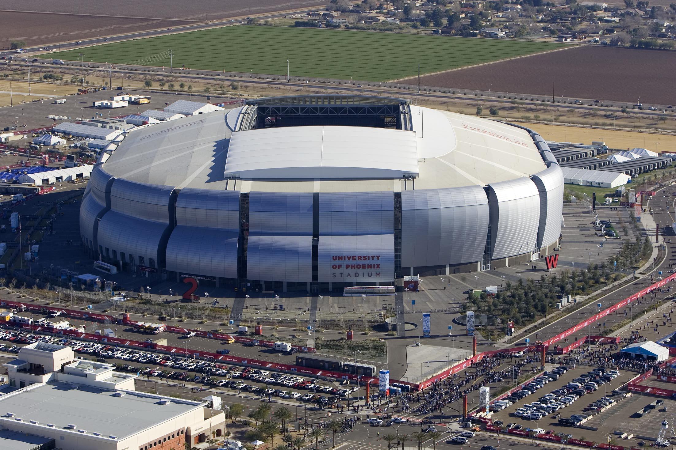 Reliant Stadium Wrestlemania 25