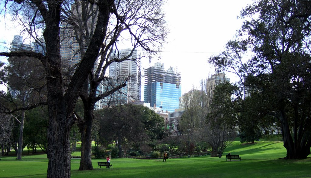 Treasury Gardens Wikipedia