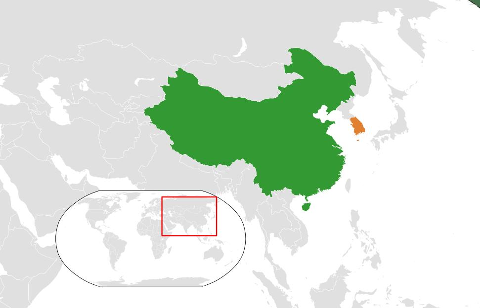 Advertisement geographic location of korea Full