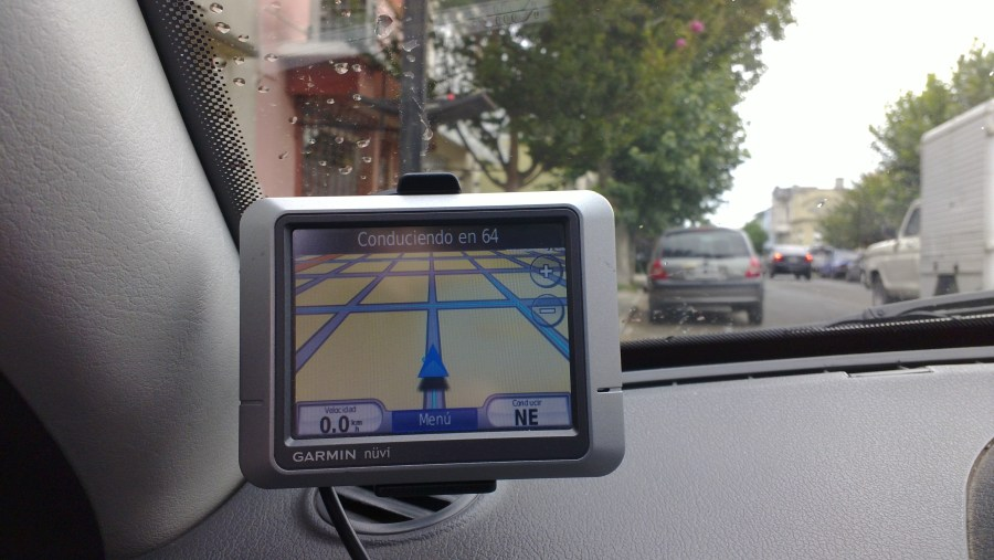 GPS navigation device   Wikipedia Vehicle navigation on a personal navigation assistant