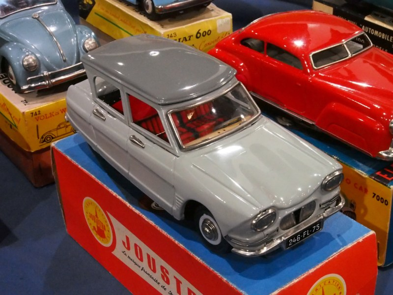 1964 austin cars » Model car   Wikipedia Citroen Ami 6 sedan pressed tin toy from Joustra of France