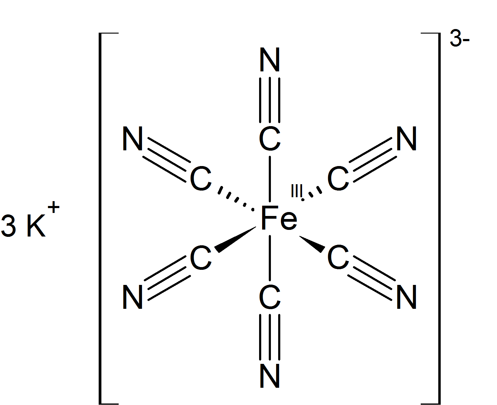 Lewis Structure Iron