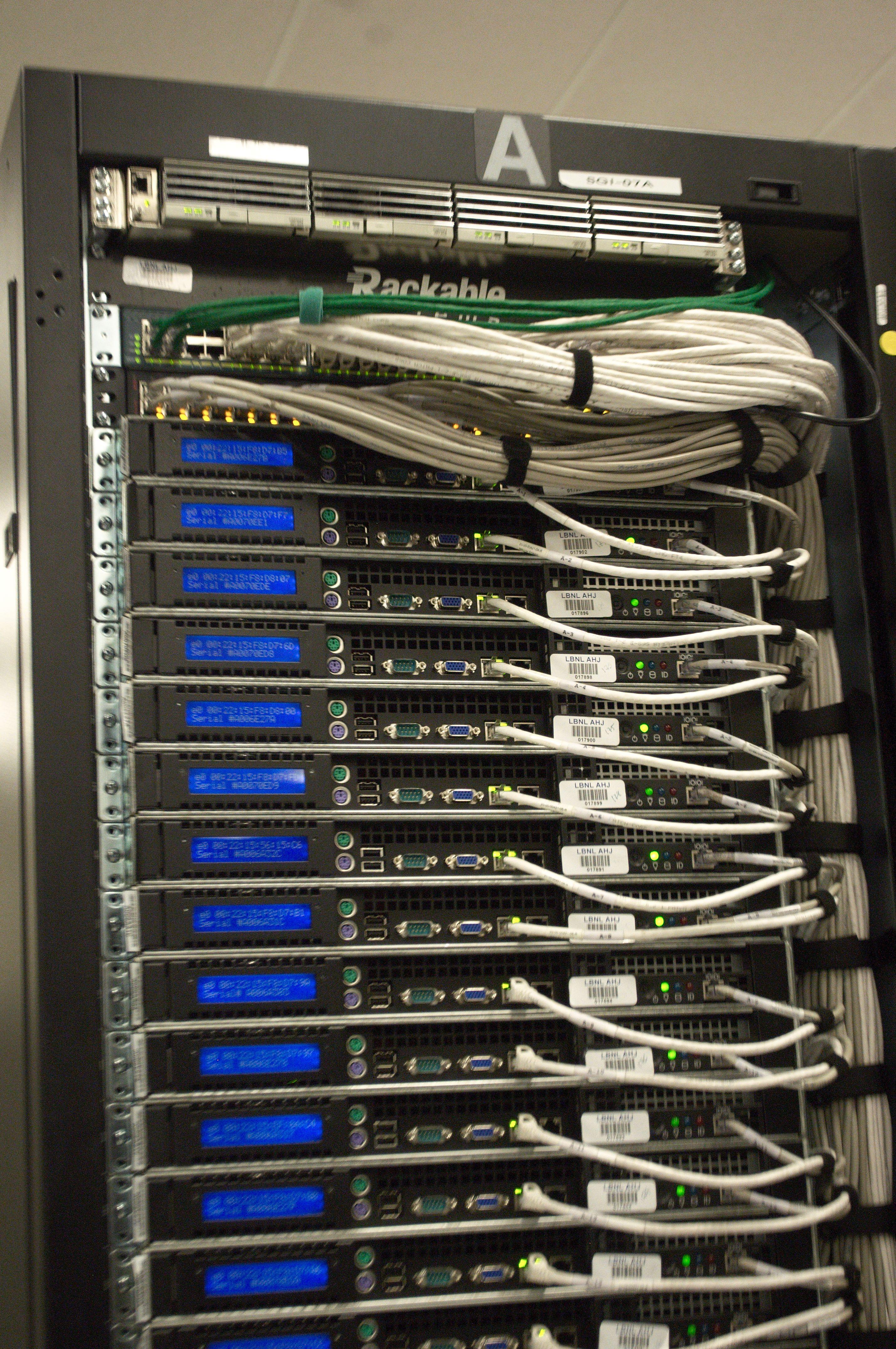 Structured Wiring Closet Data