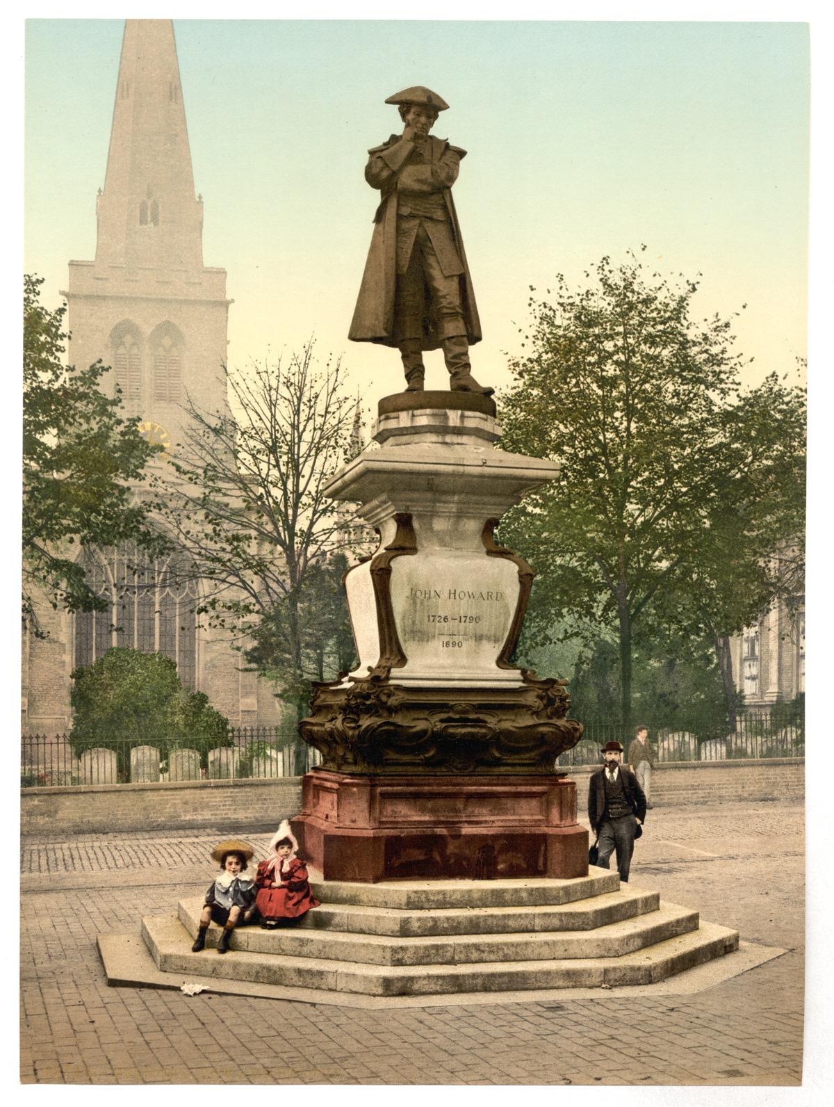 Statue Of John Howard Bedford Wikipedia