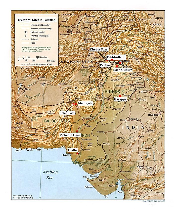 indus valley civilization map - HD 1200×1448