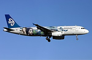 The Lord of the Rings  film series    Wikipedia Air New Zealand painted this Airbus A320 in The Lord of the Rings livery to  help promote the films